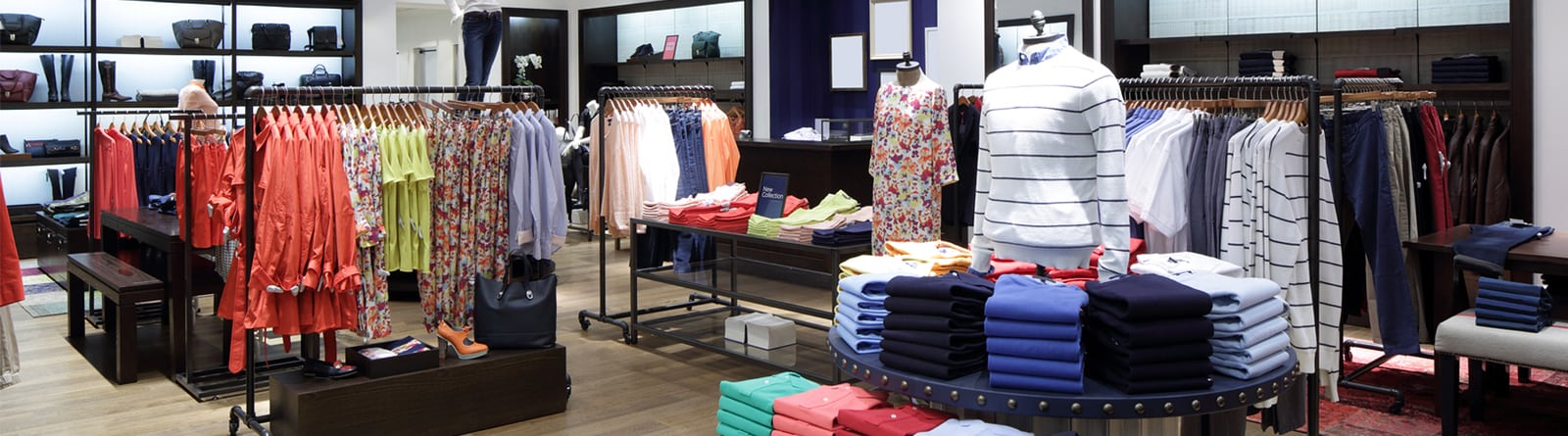 fashion outlet interior